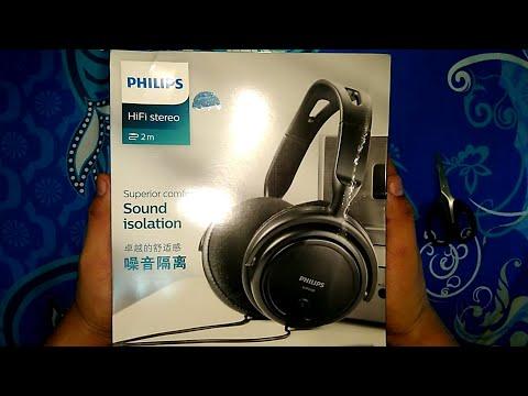 Headphone Dijamin Nyaman Harga Murah   Unboxing & Review Phillips SHP2000   Over The Ear Headphone