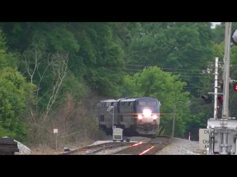 The Amtrak Crescent #20 w/ Awesome Crew & Horn Show! Austell,Ga 05-17-2013© HD