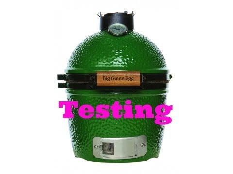 TEST - REVIEW - BIG GREEN EGG MINI - Pitmaster X