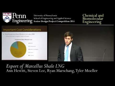 Senior Design 2014: Export of Marcellus Shale LNG