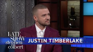 Download Lagu Justin Timberlake And Stephen Harmonize The National Anthem Gratis STAFABAND