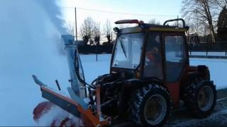 Remozione Neve/Snow removal in Verbania, January 14th, 2017