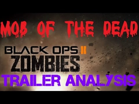 Uprising Mob of the Dead DLC Map Pack Preview FULL Analysis (Black Ops 2 Zombies)