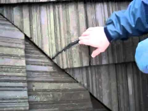 Cracked Concrete Roof Tile Roof Life Of Oregon Youtube