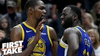 ESPN - Draymond Green, Kevin Durant heated exchange not a bad thing - Max Kellerman | First Take