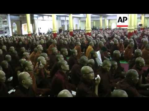 Meetings on the recent sectarian violence in Myanmar