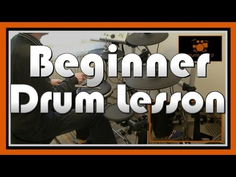 � How To Play Drums (1) � Beginner Drum Lesson | Free Video Drum Lesson