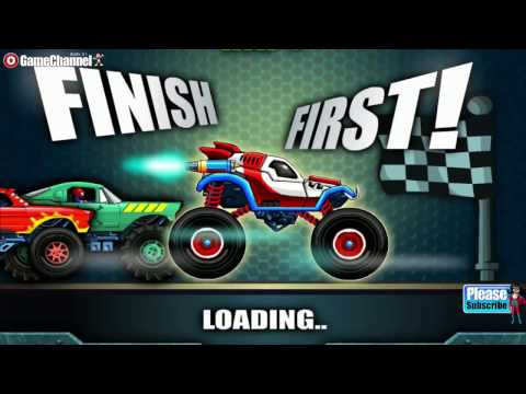 Monsters' Wheels 2 - Car Skill Racing - Monster Truck - Videos Games for Kids