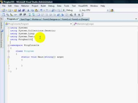 Delegates In C Sharp. C# .net events Part 2 of 2