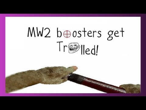HILARIOUS BOOSTER TROLLING (MW2 Boosters)