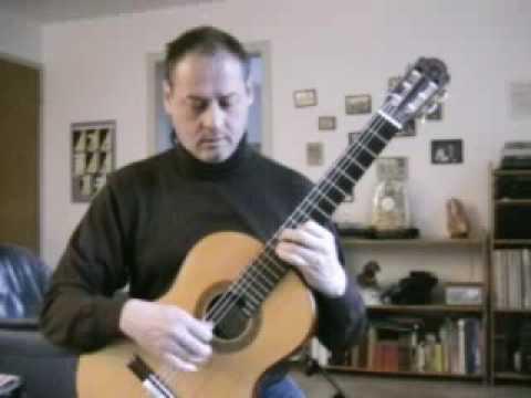 Leo Brouwer- Estudio Sencillo No. 6