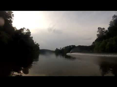 Lake Allatoona Waterfall to Rope Mill Park on Yamaha GP800 filmed with Go Pro Camera