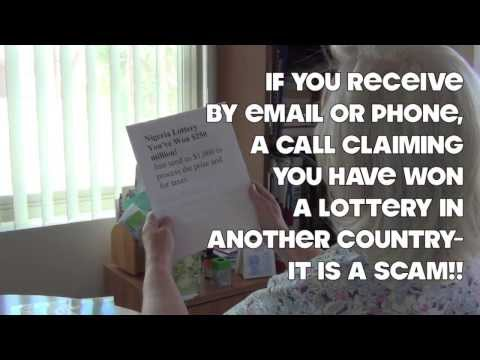 Foreign Lotteries, Publishers Clearing House, Readers Digest Scams