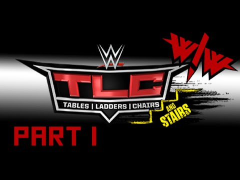 Wrestle! Wrestle! Tables, Ladders, Chairs (and Stairs?!) 2014 - Part 1