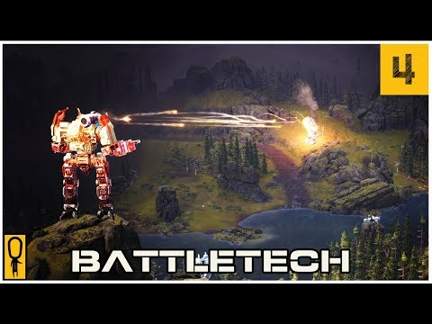 CONTRACTS - Part 4 - Let's Play BattleTech Gameplay Walkthrough Pre-Release