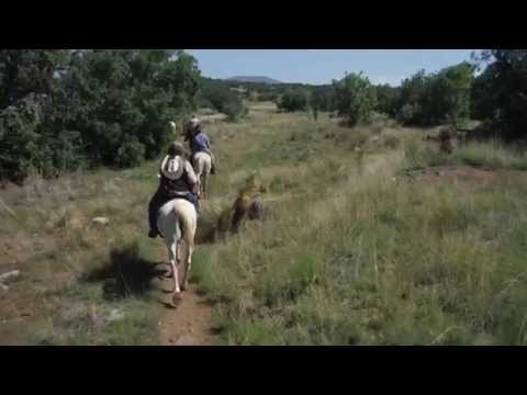 Biking, Eating And Horse Riding Near Silver City, Nm video