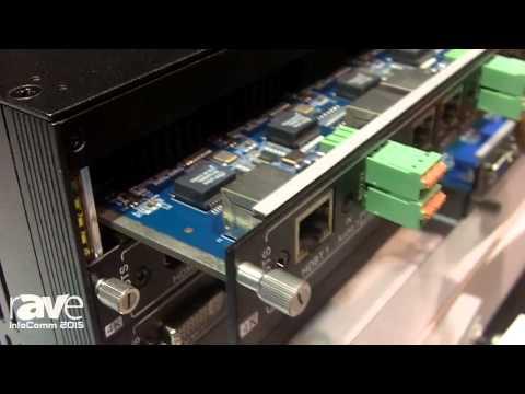 InfoComm 2015: KanexPro Exhibits Modular & HDBaseT Matrix Switchers