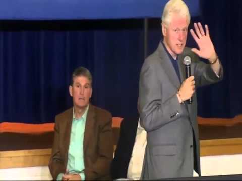 "Bill Clinton Confronted In WV About Hillary's Coal Comments: ""When's she going to lay us all off?"""