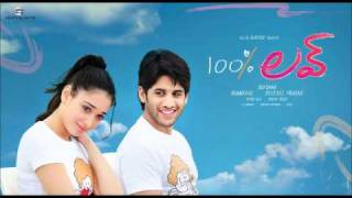 100% Love - 100% love-Diyalo Diyala -  telugu movie song Mp3[HD]-NagaChaitanya, Tammana Trailer song