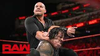 Roman Reigns vs. Baron Corbin - No Disqualification Universal Title Match: Raw, Sept. 17, 2018