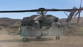 Sikorsky - CH-53K King Stallion Heavy Lift Helicopter Combat Simulation [720p]