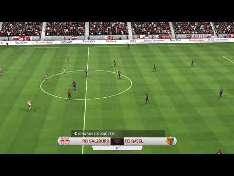 FIFA 14 : Europa-League 2013/14 : FC Red Bull Salzburg - FC Basel 1893 : 1. Halbzeit