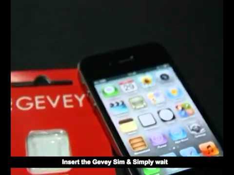 Gevey Ultra S  iOS 5.0.1  iPhone 4S Unlock