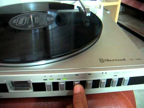 Sherwood ST905 Linear Tracking Turntable
