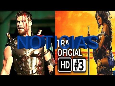 Nuevo tráiler de Wonder Woman, Nuevo aspecto de Thor para el Ragnarok y mas...