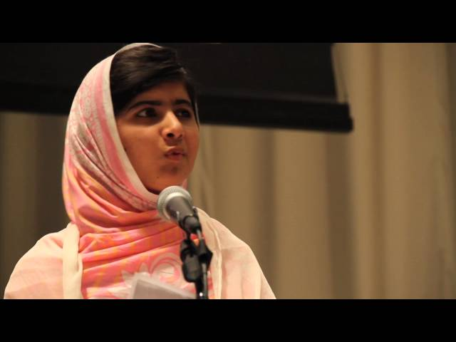 At UN, Malala Yousafzai rallies youth to stand up for universal education