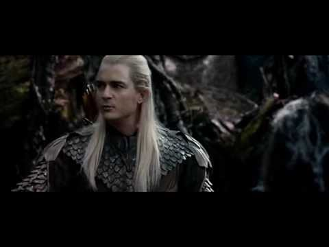 The Hobbit The Desolation Of Smaug: Mirkwood Elves Capture The Dwarves HD