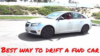 Best way to Drift a Front Wheel Drive Car
