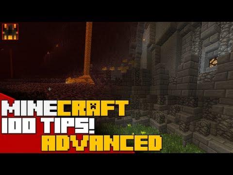 Minecraft - 100 Advanced Minecraft Tips and Tricks - Part 1 (25/100)