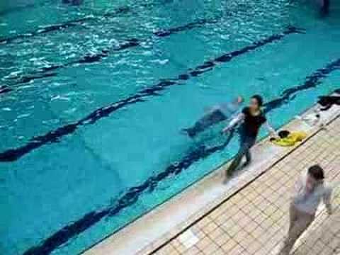 De 26e zwemdiploma van Sonja