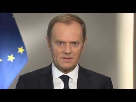 Video message by Donald Tusk on Europe Day