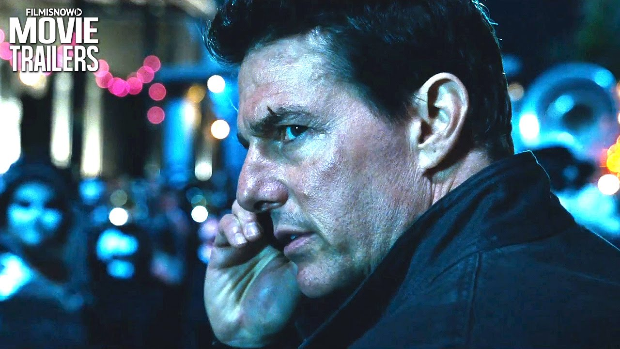Tom Cruise is JACK REACHER in NEVER GO BACK
