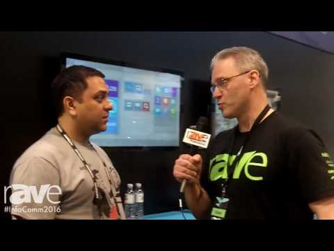 InfoComm 2016: Corey Moss Interviews Vic Bhagat of Logitech