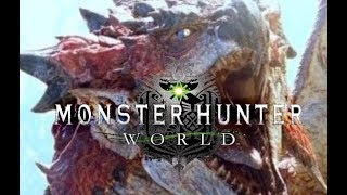 Monster Hunter World-Rathalos (Cutscene)