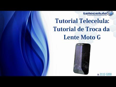 Como Trocar a lente Visor Vidro do Motorola Moto G TELECELULA