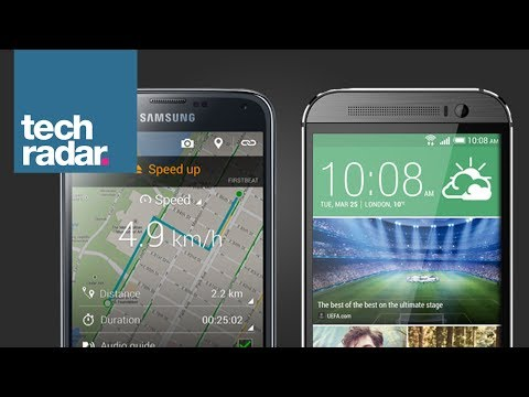 HTC One (M8) vs Samsung Galaxy S5 (2)