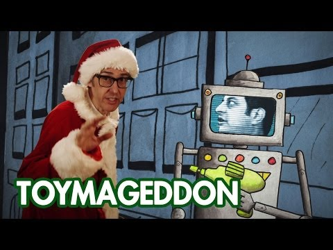 Thumbnail of video Toymageddon - featuring Yo La Tengo, Ira Glass, Eugene Mirman a Christmas MUSIC VIDEO