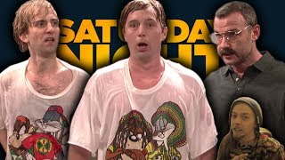 Brothers: Saturday Night Live | Beck Bennett, Kyle Mooney Liev Schreiber(SNL REACTION)