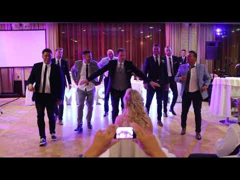 Timcsi Gergő esküvő meglepi tánc