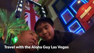 Travel with the Aloha Guy as we Highlight Gordon Ramsay's Fish and Chips Las Vegas