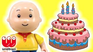 Caillou Toys - Caillou Birthday   Caillou YouTube Videos Caillou Song   Toy Store - WildBrain