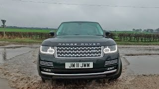 Smashing Through Floods! My Range Rover V8 Review (With Slow Motion)