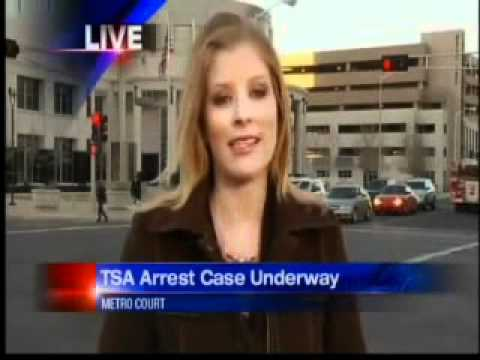 Patriot arrested by TSA, for our freedom, wins his case! its a Felony 15years Prison