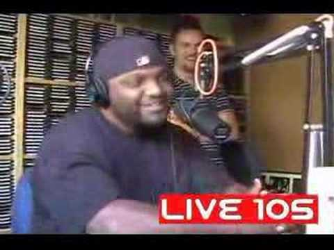 Aries Spears does rap impersonation on radio show