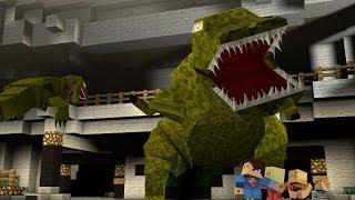 Minecraft Parody Animation : JURASSIC PARK!