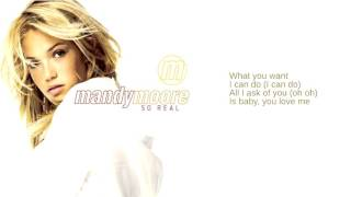 Watch Mandy Moore What You Want video